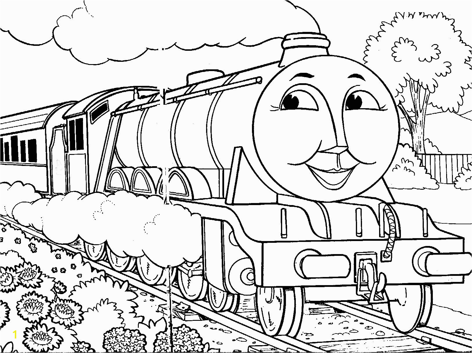 ashima train coloring Thomas The Tank Engine Coloring Pages Gordon · Thomas The Train