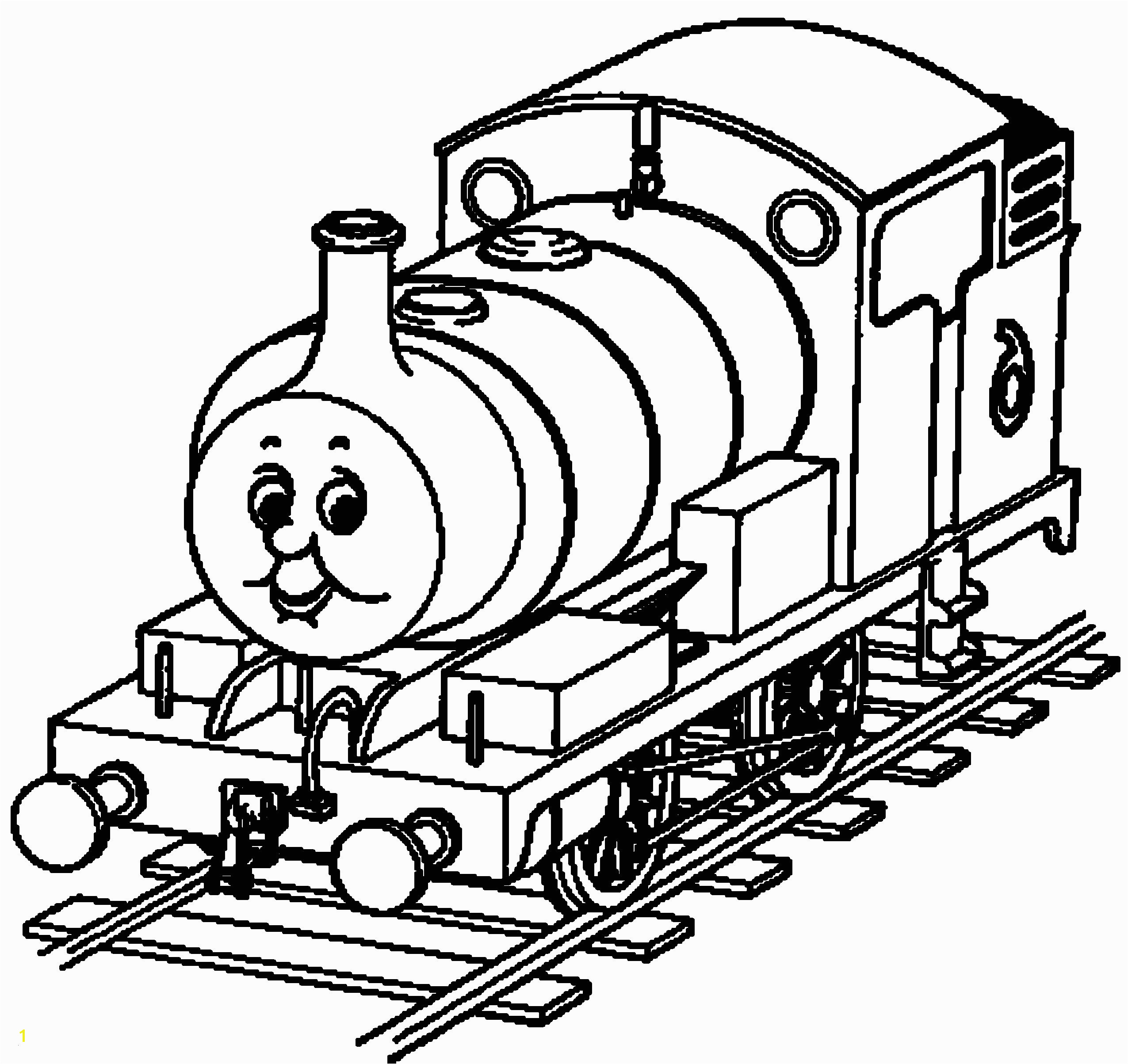 Great Thomas The Train Coloring Page Cool And Best Ideas