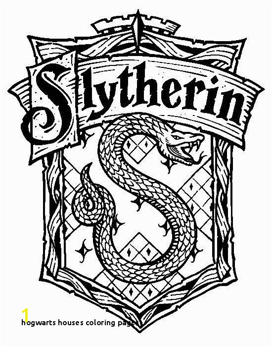 27 Hogwarts Houses Coloring Pages