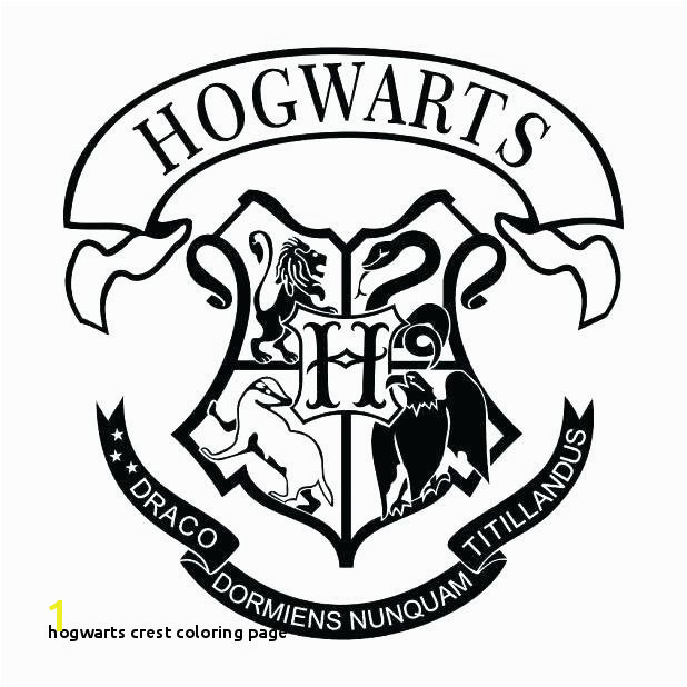Hogwarts Crest Coloring Page Hogwarts Houses Coloring Pages at Getcolorings