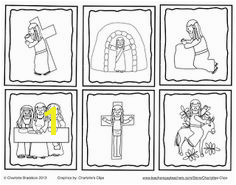 Free Holy Week Sequencing Cards from Charlotte s Clips and Kindergarten Kids Free Christian Clip Art