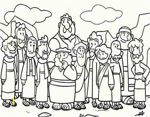 Holy Thursday Coloring Pages Elegant Jesus Last Supper Coloring Page Cartoon Od Jesus Disciples Coloring