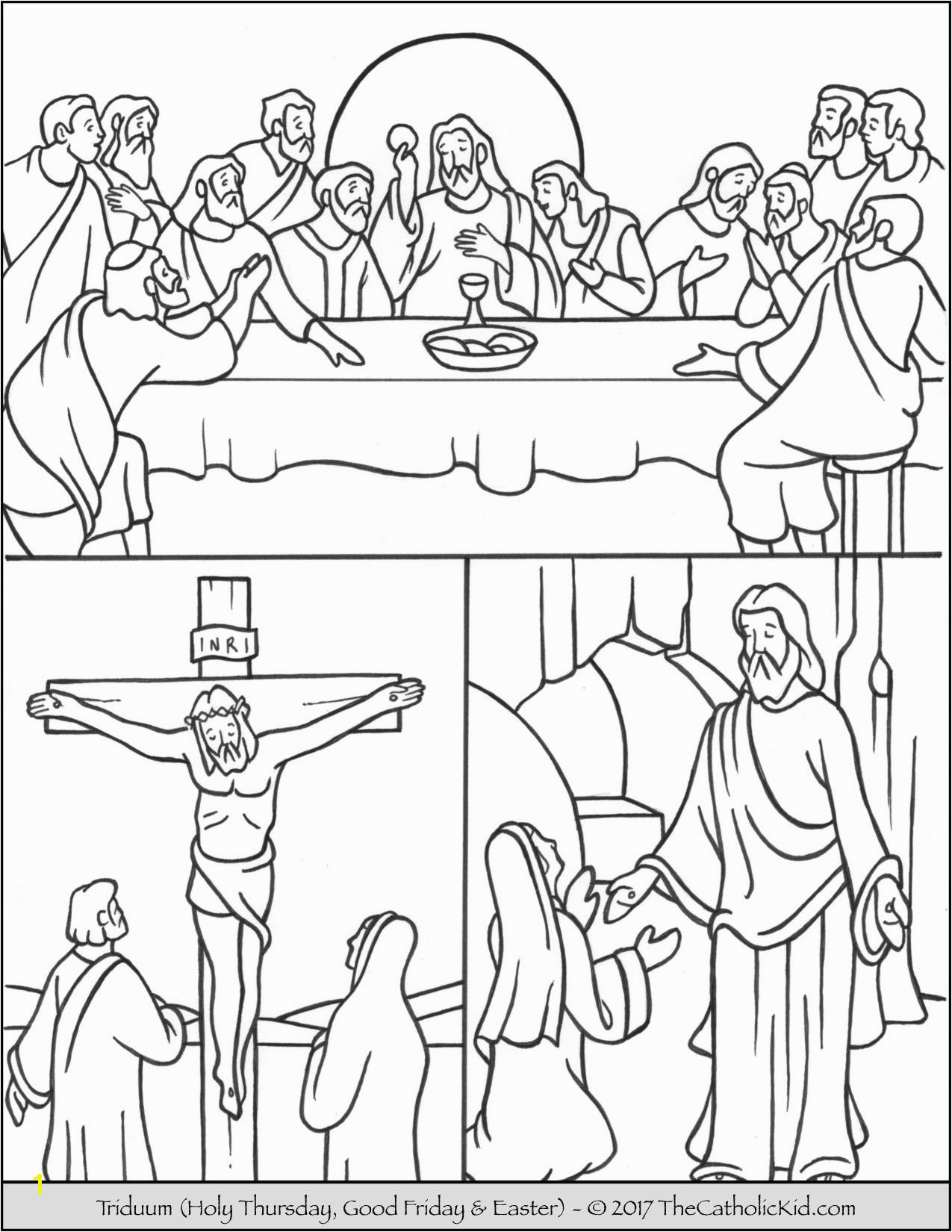 Holy Thursday Coloring Pages Pin Od Hon Teo Na Katecheza Pinterest