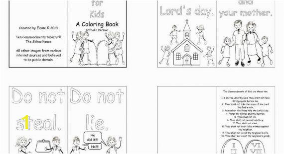 Honor Thy Father And Mother Coloring Pages