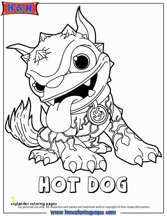 Hot Dog Skylander Coloring Page Skylander Coloring Pages 11 Best Skylanders Pinterest Skylander Free