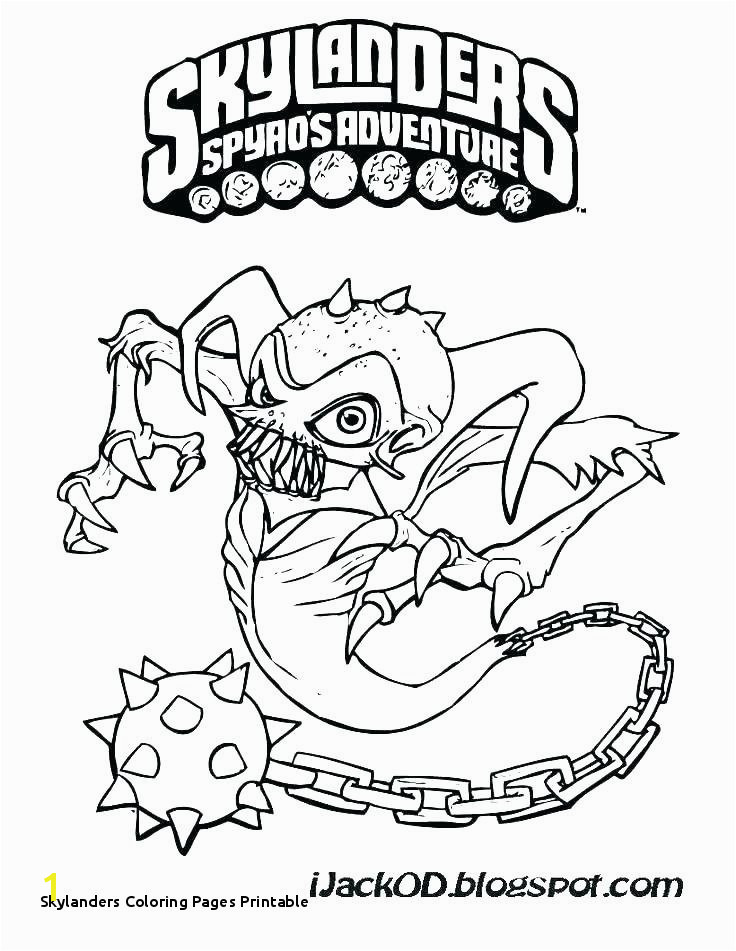 Skylanders Coloring Pages Printable Skylanders Giants Coloring Pages Best O D Colouring Fun Time Related