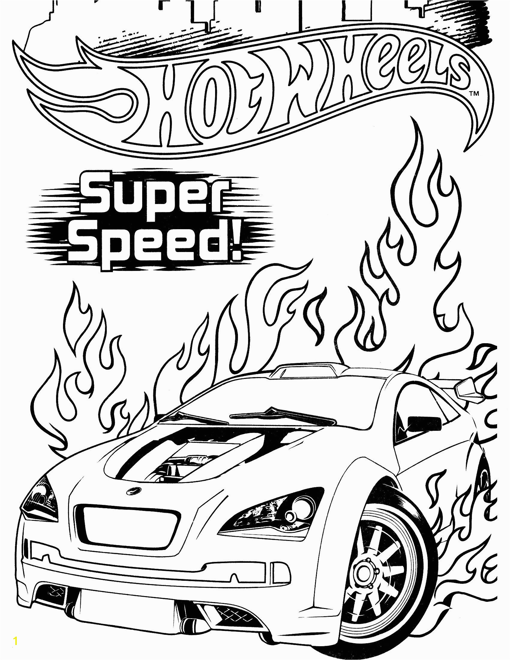 Hot Wheels Cars Coloring Pages Brilliant Hot Wheels Coloring Pages Verikira
