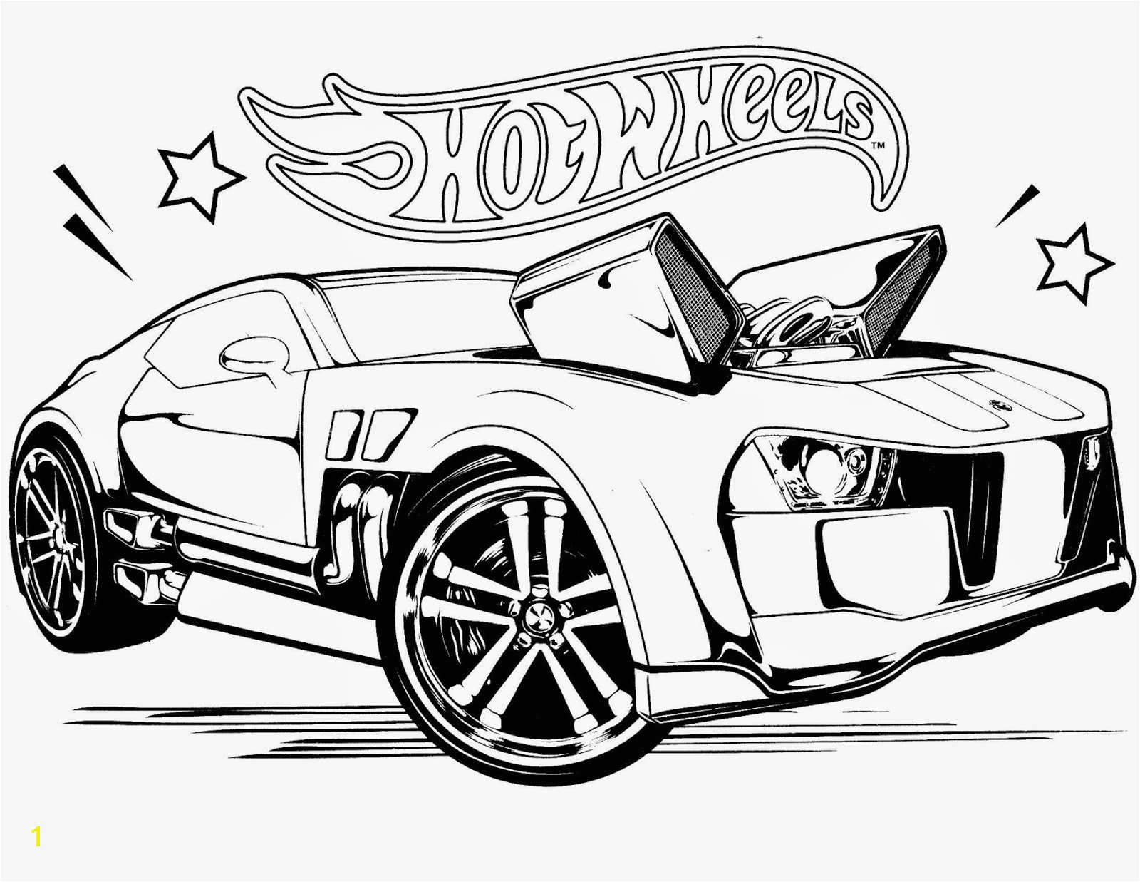 Hot Wheels Coloring Pages 76