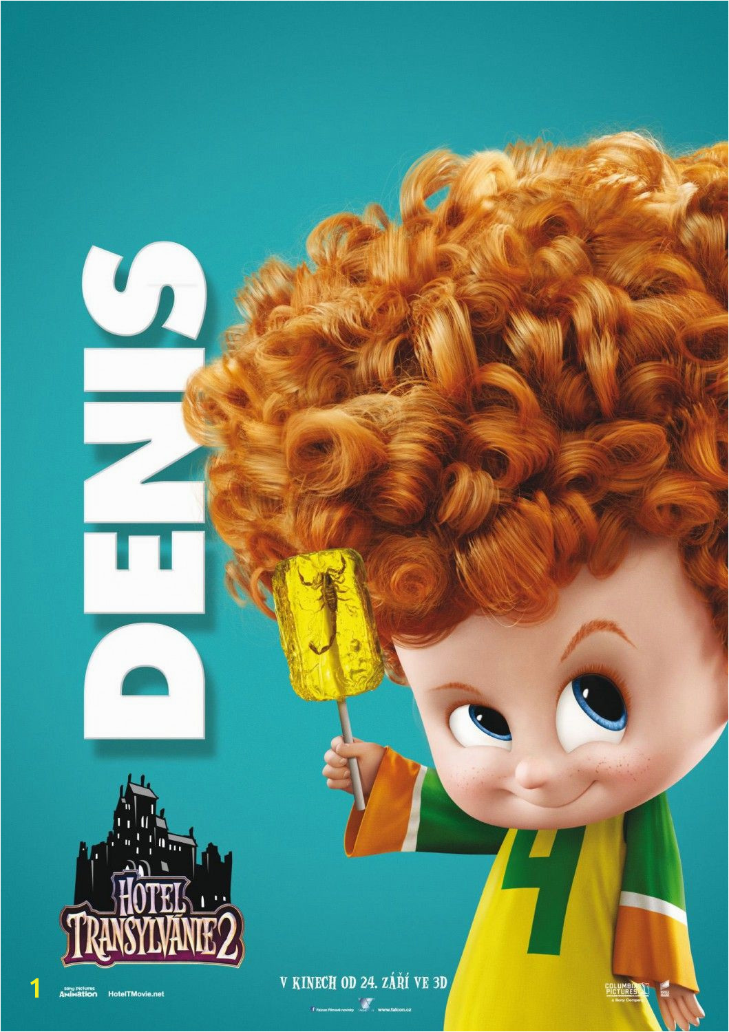 Hotel Transylvania 2 Coloring Pages Dennis Hotel Transylvania 2 Trailer Clips Music Video and Posters