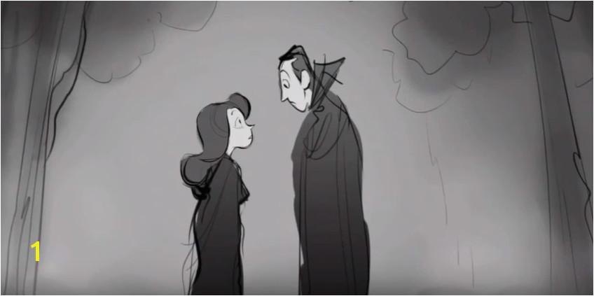 The deleted scene where Dracula meets Martha in 1757