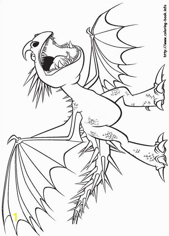 How to Train A Dragon Coloring Pages Free How to Train Your Dragon Coloring Picture