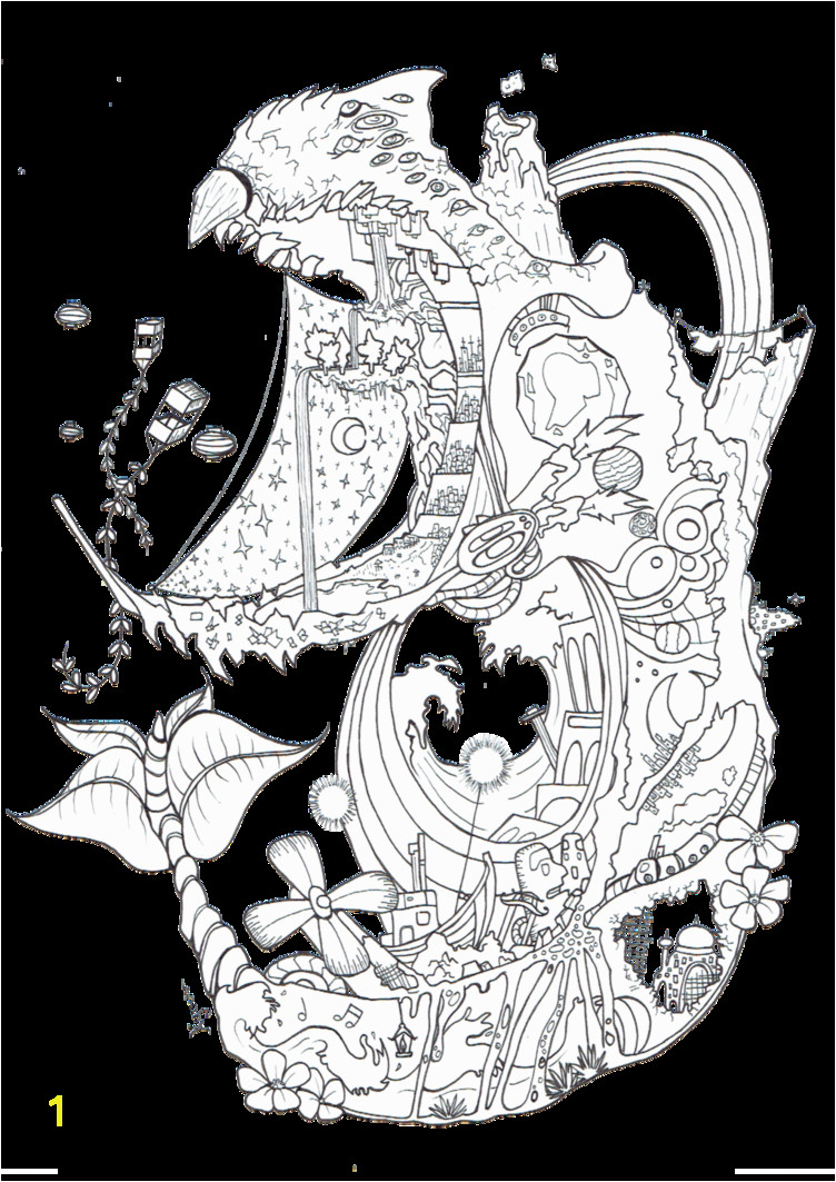 Coloring In Book Picture X2 By Kyuubi Overrated Deviantart Howls Moving Castle Coloring Book
