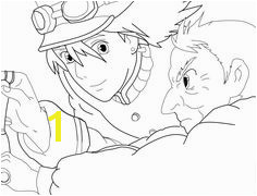 "alt=""Howl s Moving Castle Coloring Page"" Free Coloring Sheets Coloring Pages For"