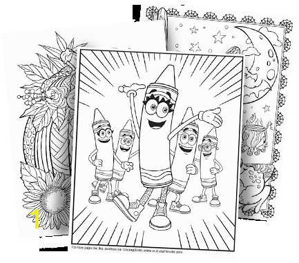 free coloring pages crayola