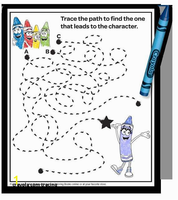 Crayola Tracing Www Crayola Free Coloring Pages Fresh Crayola Free Coloring