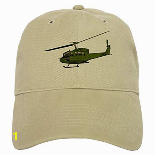 CafePress Huey Helicopter UH 1 Color Cap Baseball Cap with Adjustable Closure