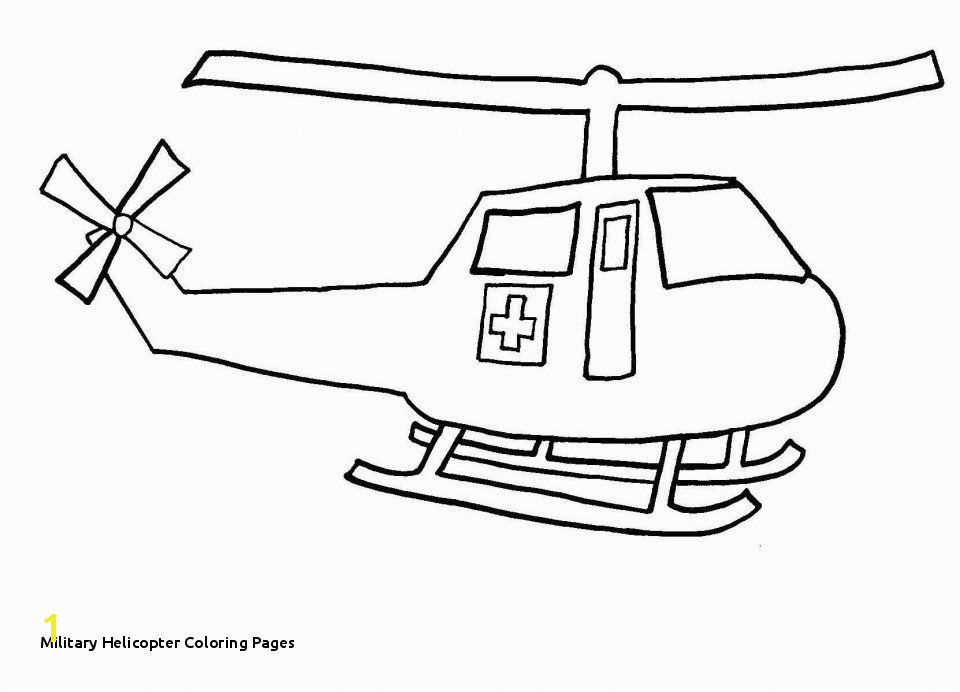28 Military Helicopter Coloring Pages