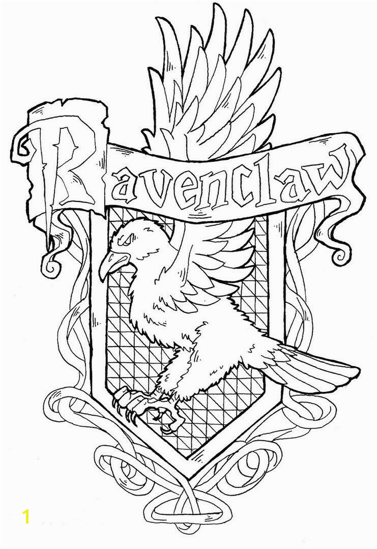 Free for personal use Hogwarts Crest Drawing of your choice