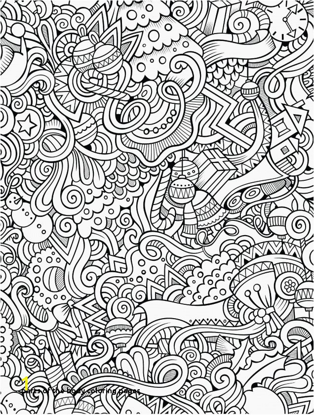Parts the Body Coloring Pages Lovely Figure Internal Parts Od Human Body Parts Free Download