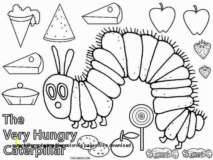Very Hungry Caterpillar Coloring Pages Free Download 28 Caterpillar Coloring Pages