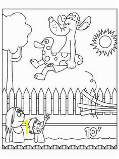 Poolside Dog printable coloring page Summer Coloring Sheets Coloring For Kids Adult Coloring Pages