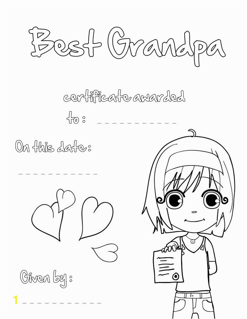 I Love You Grandpa Coloring Pages Grandparents Day Coloring Pages Best Coloring Pages for Kids