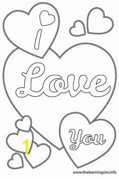 38 Beautiful I Love You Coloring Pages