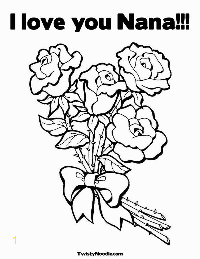 I Love You Nana Coloring Pages Coloring Pages for Adults Love Bing