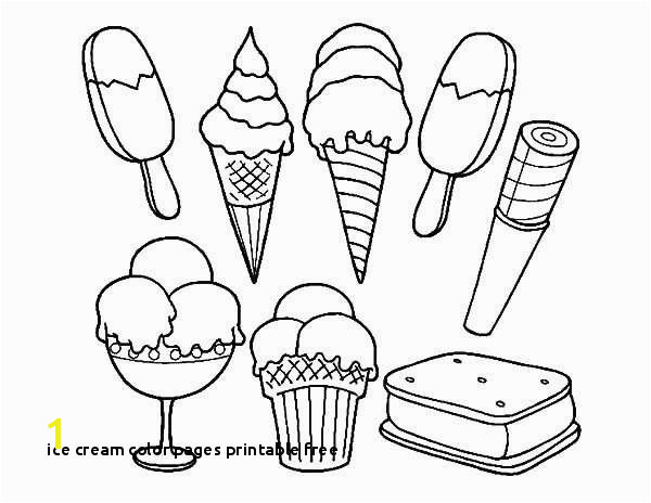 Ice Cream Color Pages Printable Free Ice Cream Coloring Pages Beautiful Ice Cream Coloring Sheet Coloring