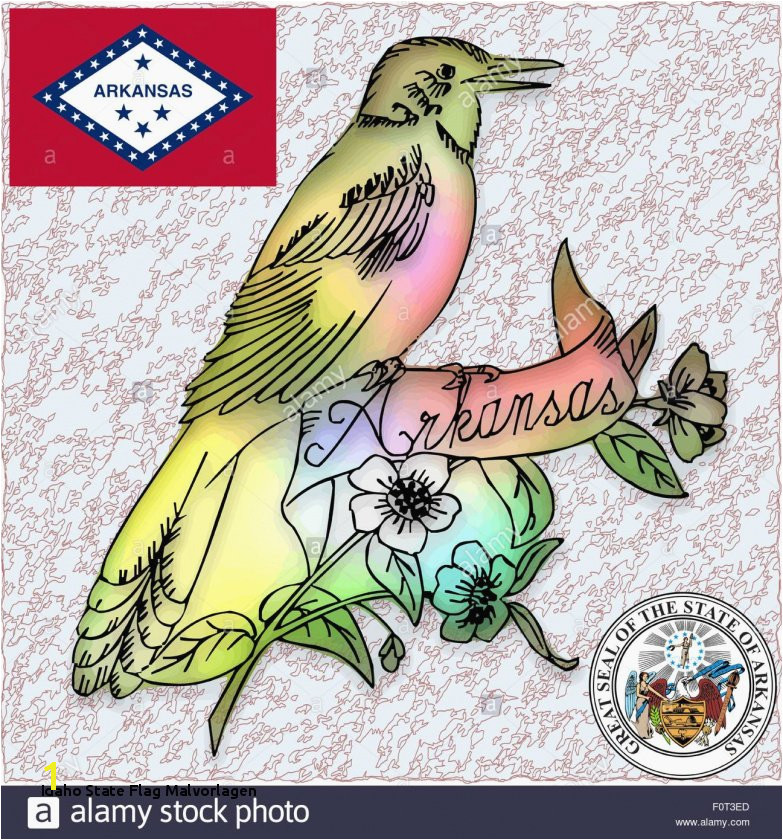 Best Idaho State Bird Coloring Page Unique Wyoming State Flag