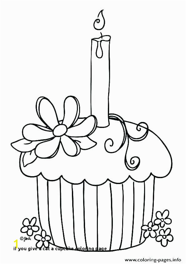 if You Give A Cat A Cupcake Coloring Page Cupcake Coloring Book Free Coloring Book Cupcake