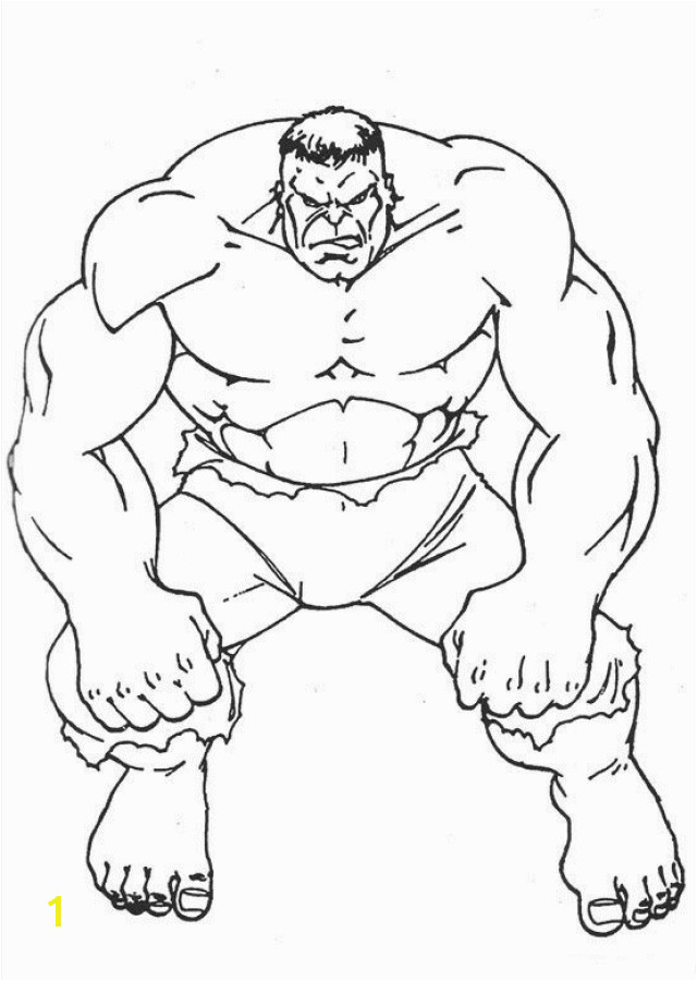 Incredible Hulk Coloring Pages to Print Free Printable Hulk Coloring Pages for Kids
