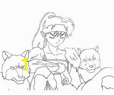 Inuyasha Coloring Pages 134 Best Inuyasha Images