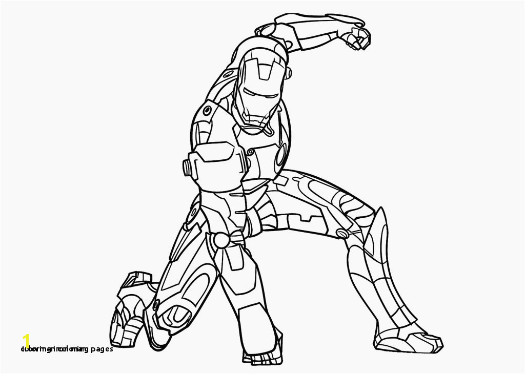 Iron Man Coloring Pages Coloring Iron Man Awesome Superhero Coloring Pages Awesome 0 0d