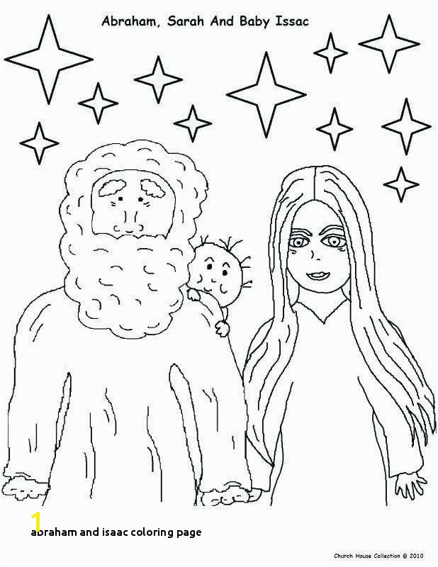 Abraham And Sarah Coloring Pages Beautiful Abraham And Isaac