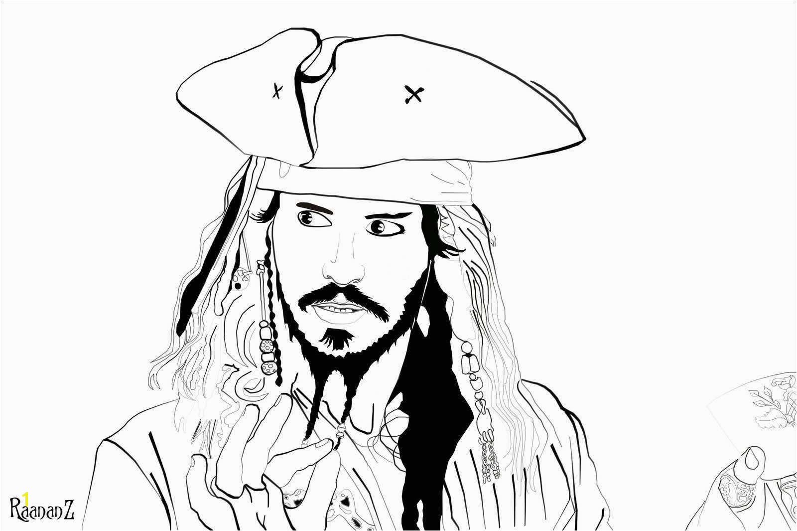 Jack Sparrow Ausmalbilder Gemälde Disney Infinity Jack Sparrow Coloring Pages
