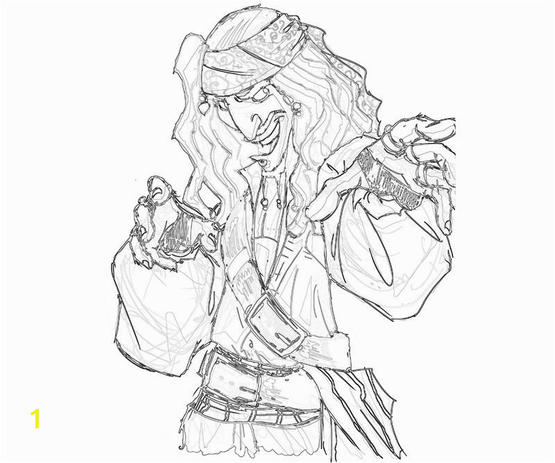 printable jack sparrow funny coloring pages 1