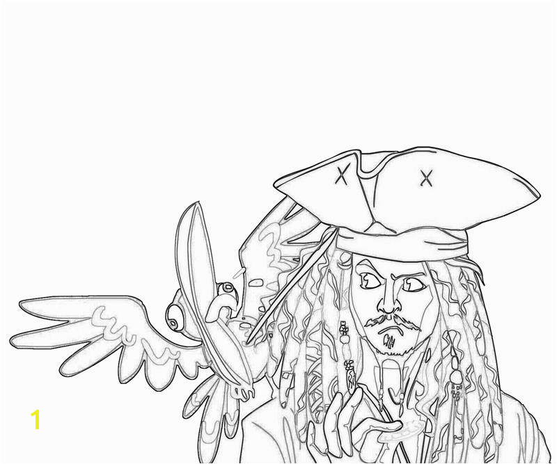 printable jack sparrow funny coloring pages 3