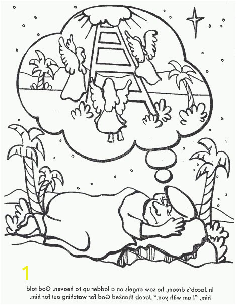 Jacob S Ladder Coloring Pages Jacobs Ladder Coloring Pages Luxury Jacob S Ladder Coloring Page