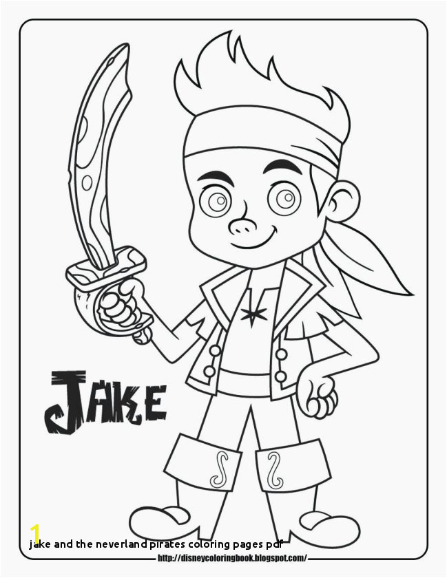Jake and the Neverland Pirates Coloring Pages Pdf Inspirational Jake and Neverland Pirates Coloring Pages Free