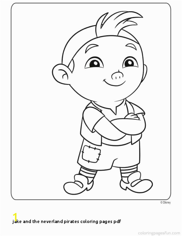 Jake and the Neverland Pirates Coloring Pages Pdf Jack and the Neverland Pirates Coloring Pages