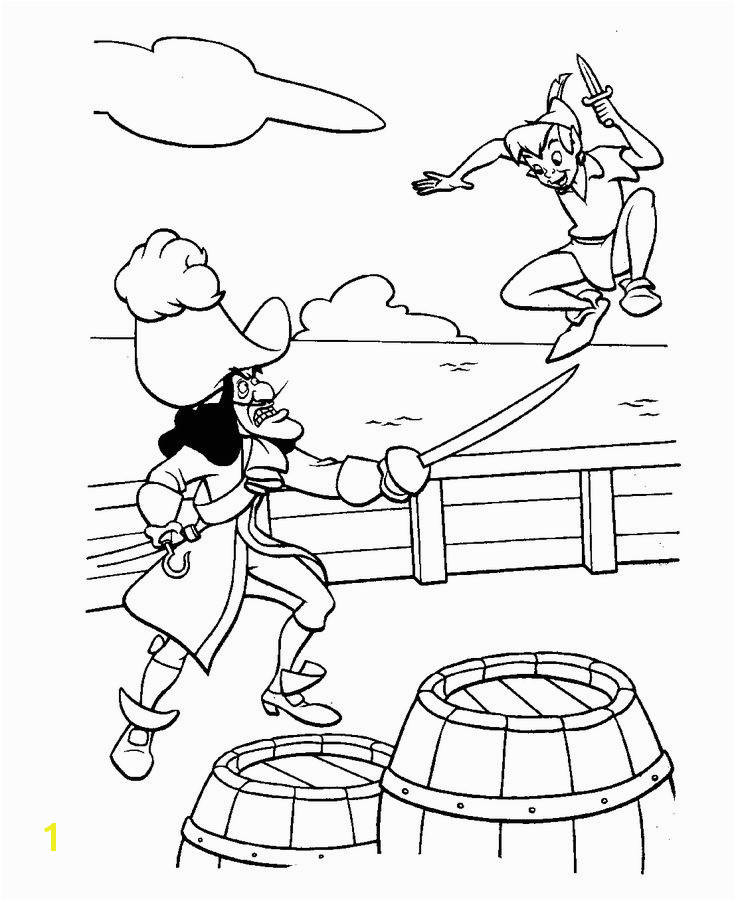18unique Peter Pan Coloring Book Clip arts & coloring pages jake and the neverland pirates