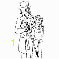 Charlie And The Chocolate Factory Coloring Pages Charlie And Willy Charlie Chocolate Factory Roald