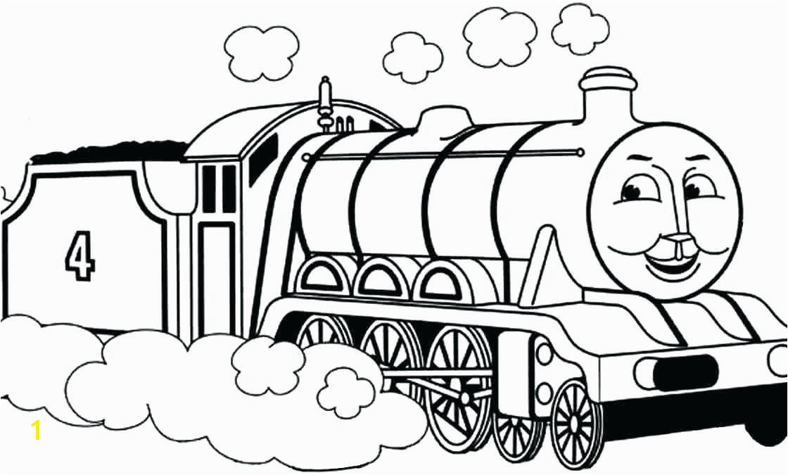 Thomas The Tank Engine Coloring Page Thomas The Train Coloring Page