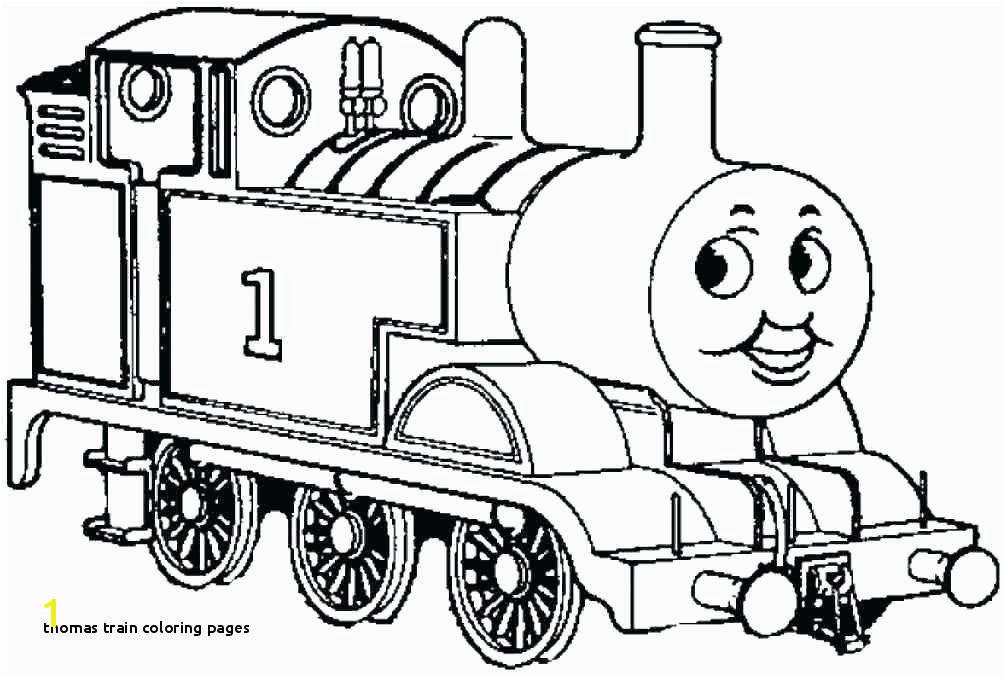 28 Thomas Train Coloring Pages