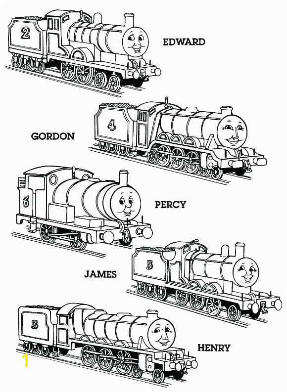 Thomas the Tank Engine Coloring Pages Related Post