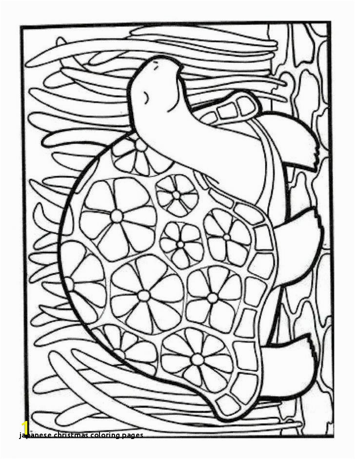 Japanese Christmas Coloring Pages Japanese Christmas Coloring Pages Vintage Japanese Coloring Book 9