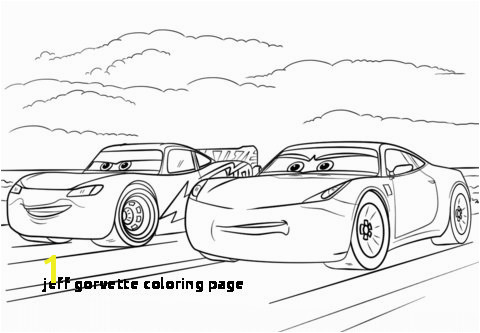 McQueen and Ramirez from Cars 3 coloring page from Disney Cars