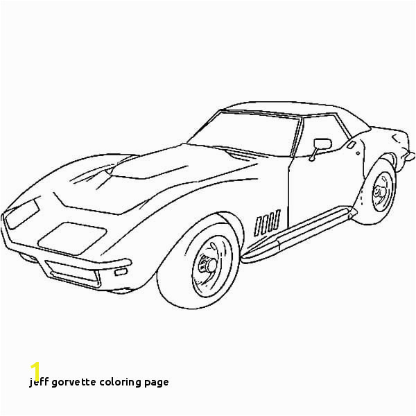 Corvette Cars How to Draw Corvette Cars Coloring Pages