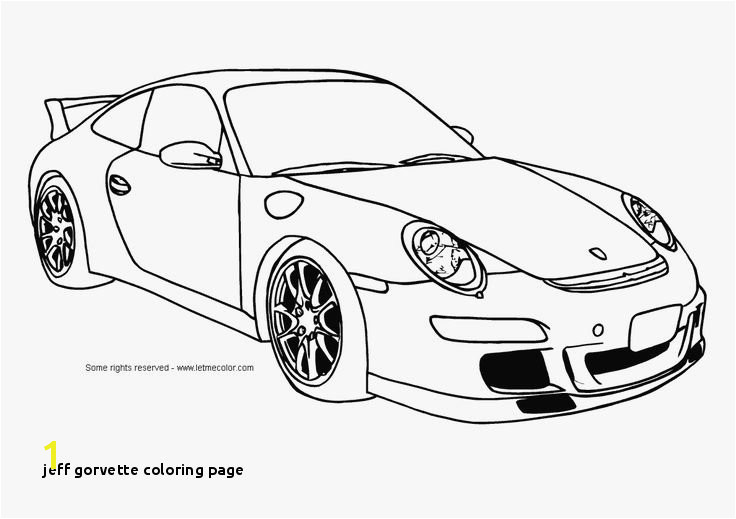 Car Coloring Pages For Boys print